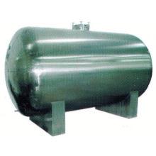 Tanque 2017 del acero inoxidable de la comida, tanque de almacenamiento del agua de SUS304 1000 galones, precio agitado continuo del reactor del tanque de GMP