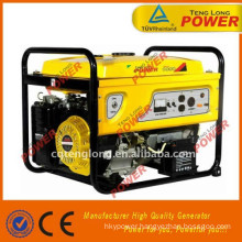small 2 kva petrol fuel less generator for sale