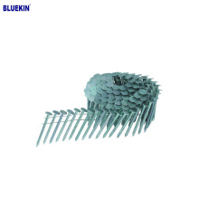 """1-3/4"""" X 0.92""""  Galvanized Ring Shank Siding Coil Nails"""
