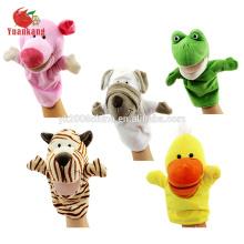 juguete de marioneta de felpa de animal para adulto