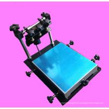Impressora de serigrafia de baixo custo da mão