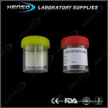 Bolo esterilizado de 60 ml com etiqueta