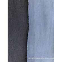 Tela de mezclilla texturizada de doble cara