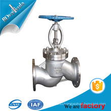 CHINA GOLBE VALVE SUPPLIER FOR 20 YEARS CASTED GLOBE VALVE