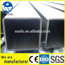 GB / T6728 carré Q345B tuyau en acier pour structure mécanique