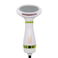 Secador de cabelo para animais de estimação Pente elétrico de ar quente com 2 temperaturas