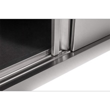Sliding Door Wall Hanging Commercial Kitchen Cabinets