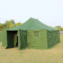 Large Waterproof Canvas Army Winter Camping Tents