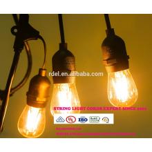 SL-07 STRING LIGHTS CORDS SETS guirlandes d'éclairage décoratives d'extérieur LED UL CSA