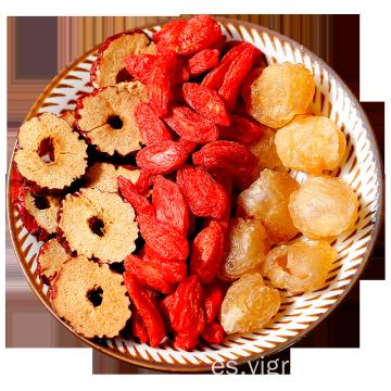 Té perfumado de Longan Wolfberry y dátil rojo seleccionado