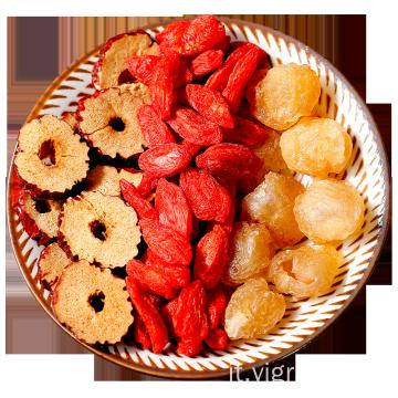 Tè profumato selezionato al wolfberry Longan e dattero rosso