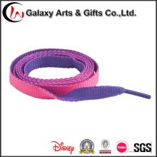 Ткань Шнурка Изготовленного На Заказ Логоса Плоский Печатных Шнурки
