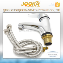 Zinc body Ceramic cartridge chrome plated water cheap faucet