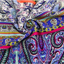 100 Rayon Dress Fabric Custom Printed Fabric Cloth for Clothing