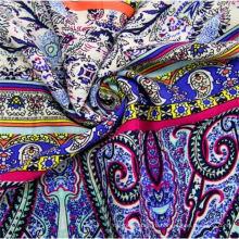100 ткань для платья из вискозы на заказ ткань с принтом для одежды