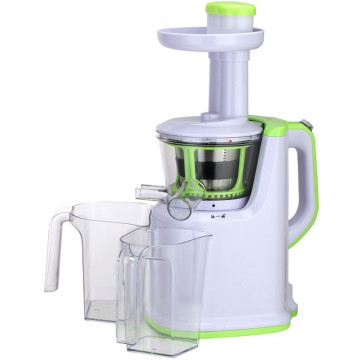 Plastic housing slow juicer with stainless steel basket and tritan auger