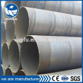 Factory price round spiral SSAW metal water pipe for fluid