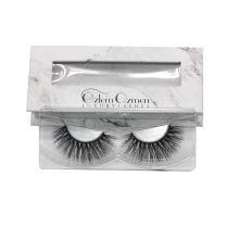7D58 Hitomi 3d mink eyelashes private label paper eyelash packaging 3d real mink eyelash