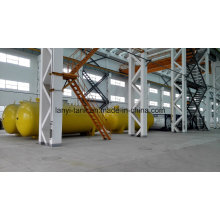 50000L Good Quality Fuel Storage Tank with Valves on Truck