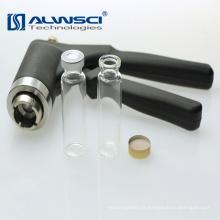 Grammage en aluminium noir haute qualité de 20 mm