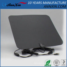 прочный Ультра-тонкий плоский крытый HDTV антенны UHFVHF стандарта DVB-T цифровой крытый ТВ антенны