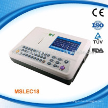 3 canaux ekg machine interpretation prix vente chaude (MSLEC18-N)