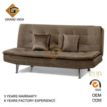 Mobília chinesa veludo tecido cadeira do recliner (GV-BS114)
