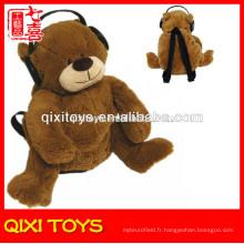 peluche pas cher ours en peluche sac à dos