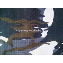 100% coton tissu tc ripstop mélange / camouflage numérique militaire imprimé pour le tissu militaire uniforme