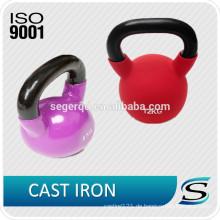 Qingdao farbige Vinyl eingetaucht Kettlebell