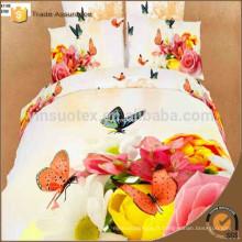 Bridal 3d printing bedding Literie en gros set 100% coton draps en lin