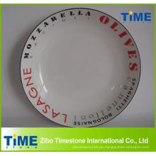 Täglich verwendete Porzellan Pasta Italiana Serving Bowl