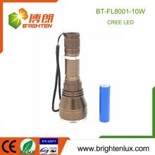 Фабрика дешевое сбывание многофункциональное 3 режима Handheld самый лучший яркий алюминиевый кри xml t6 непредвиденный Тактический мощный свет факела водить