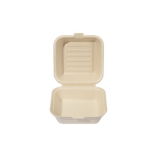 Biodegradable Disposable Food Container Sugarcane Bagasse Packing Box Eco friendly Tableware Take Away Container