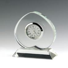 Relógio de mesa de cristal para presente do negócio (ks54023)