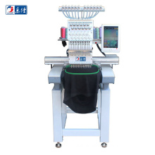 Cheap price single head home hat T-shirt computerized sewing embroidery machine