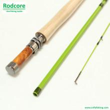 Grünes Blatt Gr703-3 Klassisches Mäßiges Fiberglas Fliegenruten