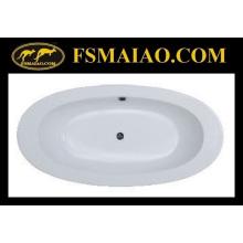 Bañera de baño de acrílico simple popular (BA-8810)