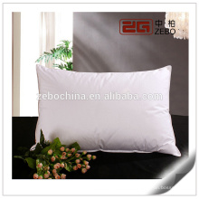 100% Cotton Cover with Microfiber Filling Wholesale Soft White Pillows