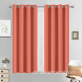 Coral Blackout Curtains 54 Zoll lang