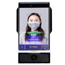 Face Recognition Door Access System with Wrist Temperature