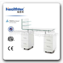 White Blue Pink Nail Manicure Table (WT3482-1-D)