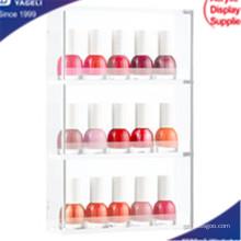 Hot Sale Acrylic Clear 3 Layer Nail Organizer, Cosmetic Organizer