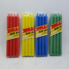 Vela de 38grams Tall Stick Color blanco para Ghana