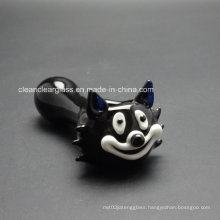 Hot Sale Black Cat Glass Pipe Hand Pipe Smoking Pipe Manufacturer Wholesale