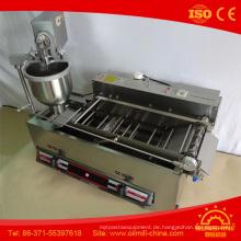 T101A Elektro mit Gas Volle Edelstahl Mini Donut Maschine
