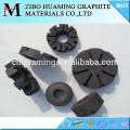 Desgasificación de aluminio Rotores de grafito con resistencia a la oxidación