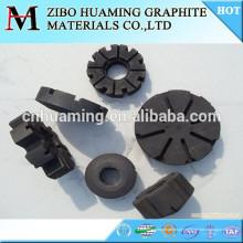 Rotor de grafite antioxidante para desgaseificação de alumínio