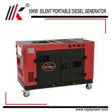 Precios del generador diesel Motor diesel de 3 fases Pequeño diesel silencioso de la energía eléctrica portátil en África