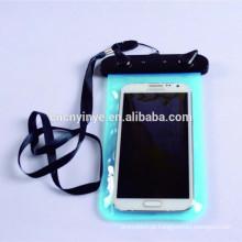 Telefone móvel pvc impermeável saco seco